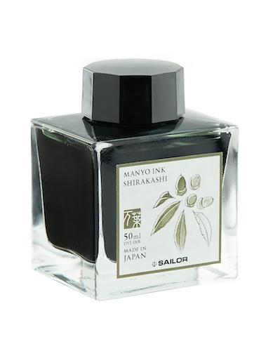 Sailor Manyo Ink Shirakashi 50 ml