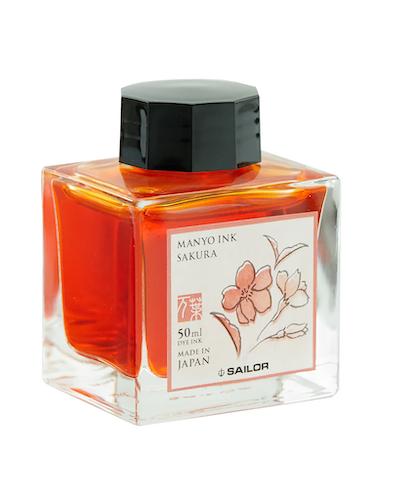 Sailor Manyo Ink Sakura 50 ml