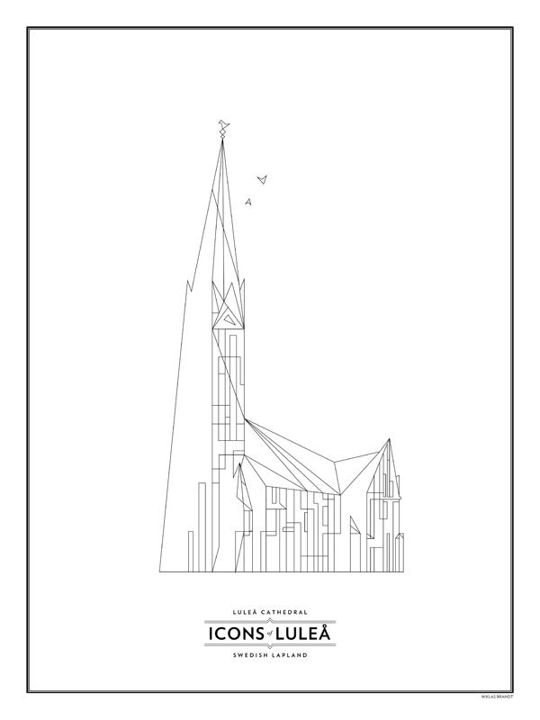 Domkyrkan - svart-vit