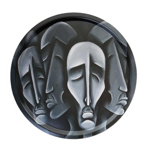 Serveringsbricka, Confused thinkers, 45 cm diameter