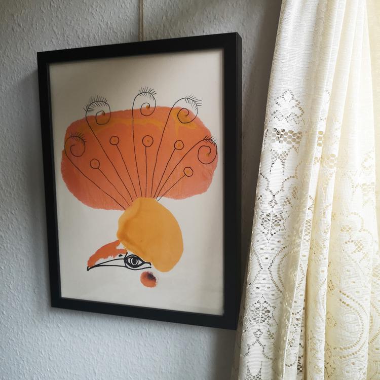 Madame Orange, poster