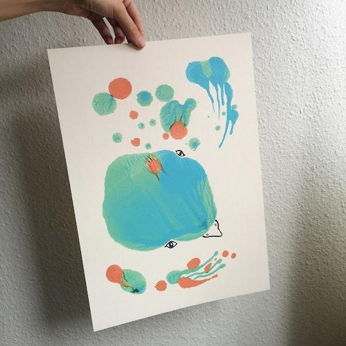 Vattenfågel, poster