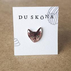 Katt, pin