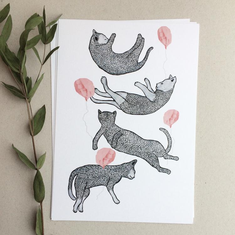 Katter & ballonger, A5