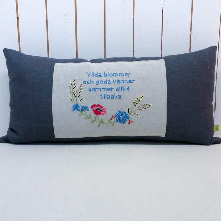 Bonadskudde Vilda blommor