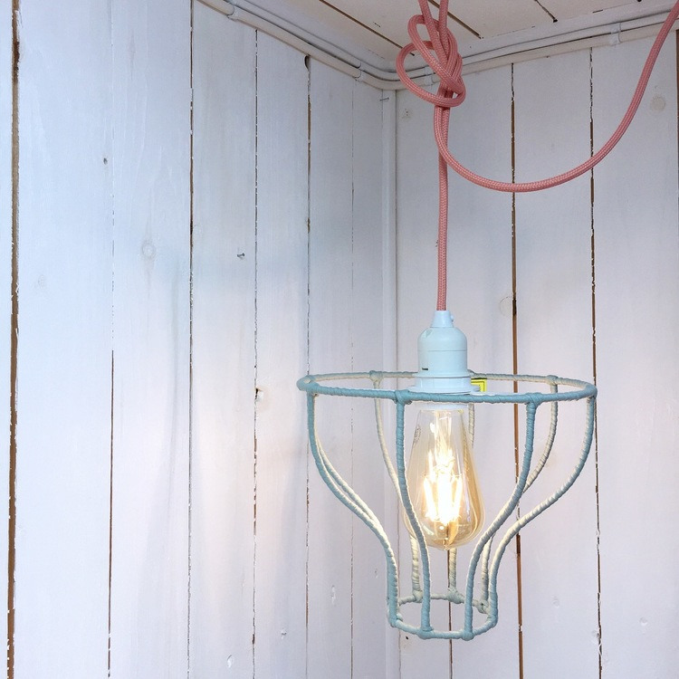 Hängande Lampa Bluebell