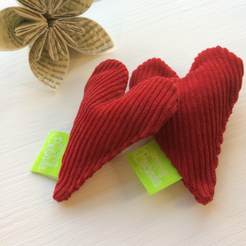 Handvärmare Hjärta Röd