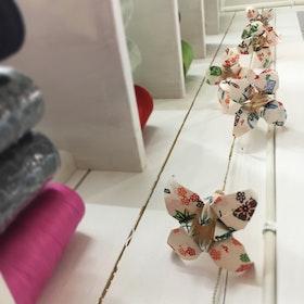 Liljor på tråd