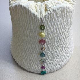 Lampskärm Jersey Button