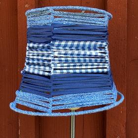 Lampskärm Sommarblå