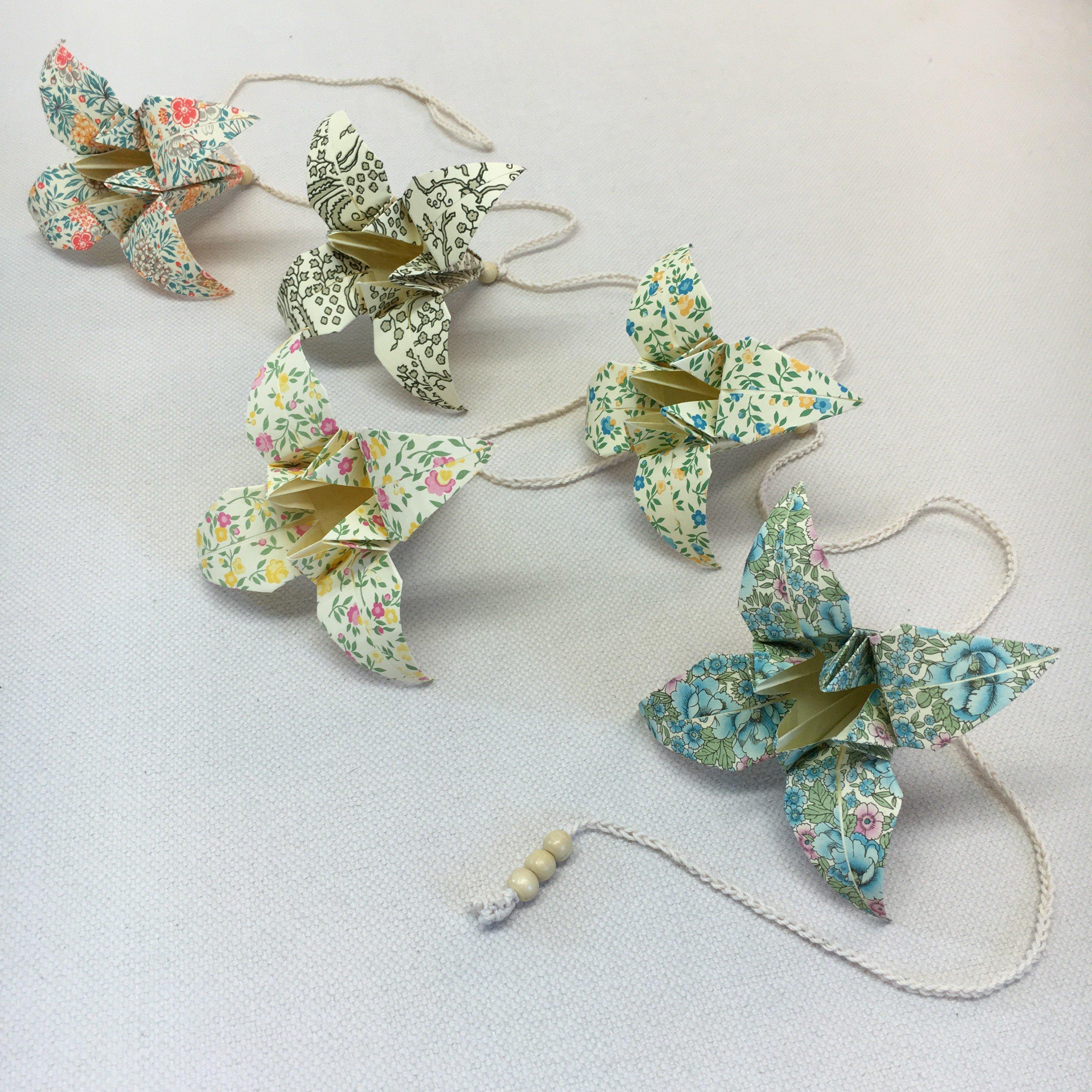 Origami-slinga Natur