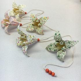 Origami-slinga Orange 1