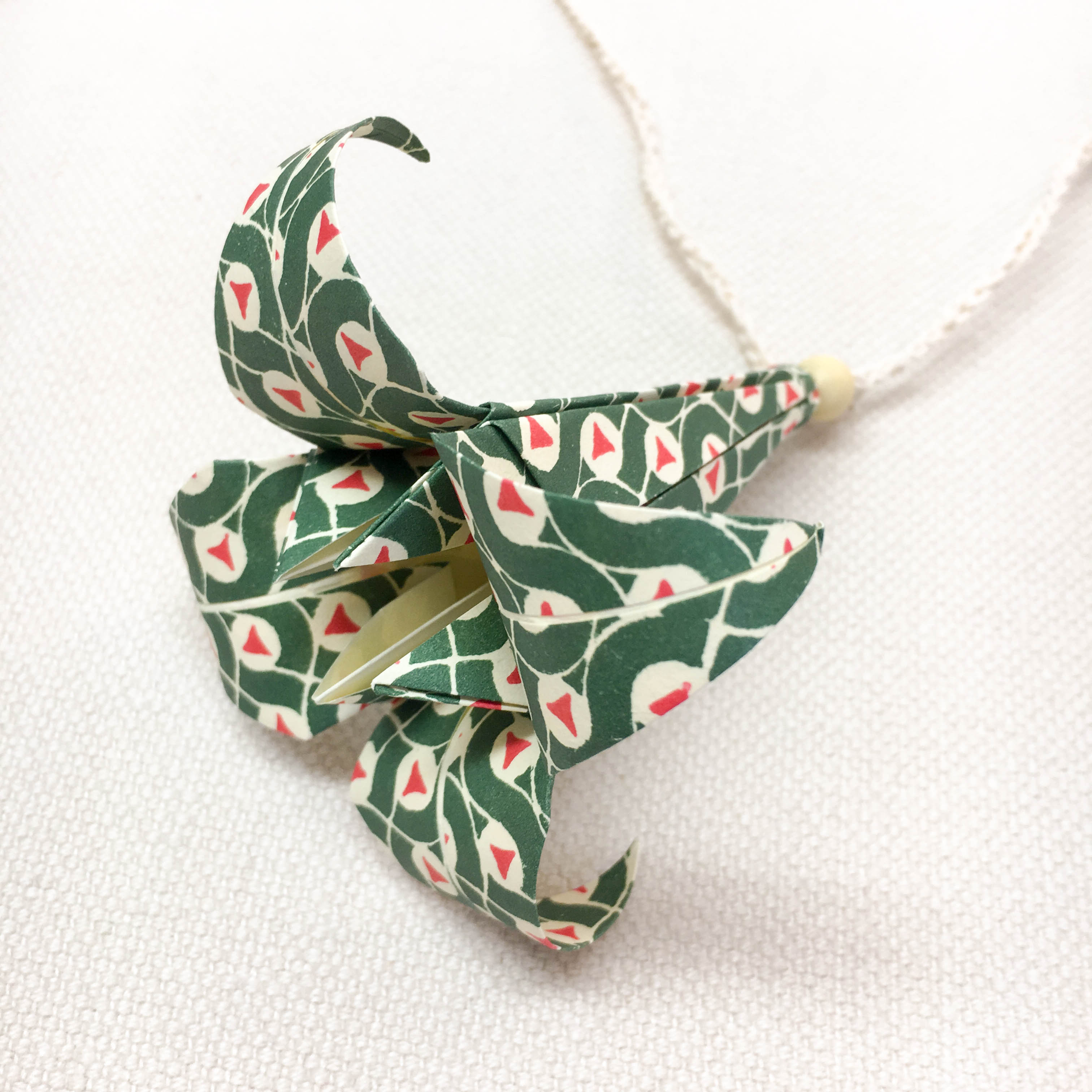 Origami-slinga Björnmossa