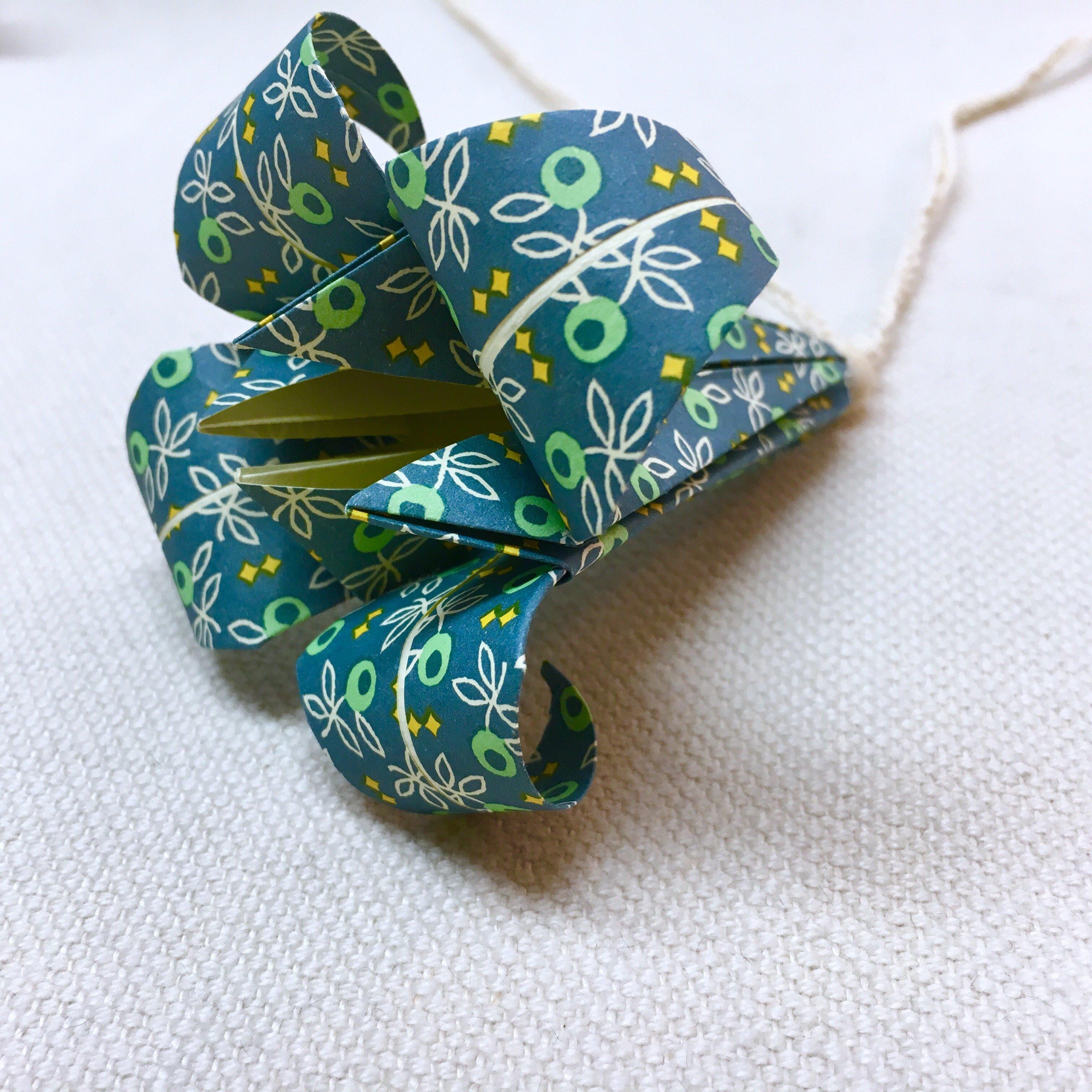 Origamislinga Mullbär