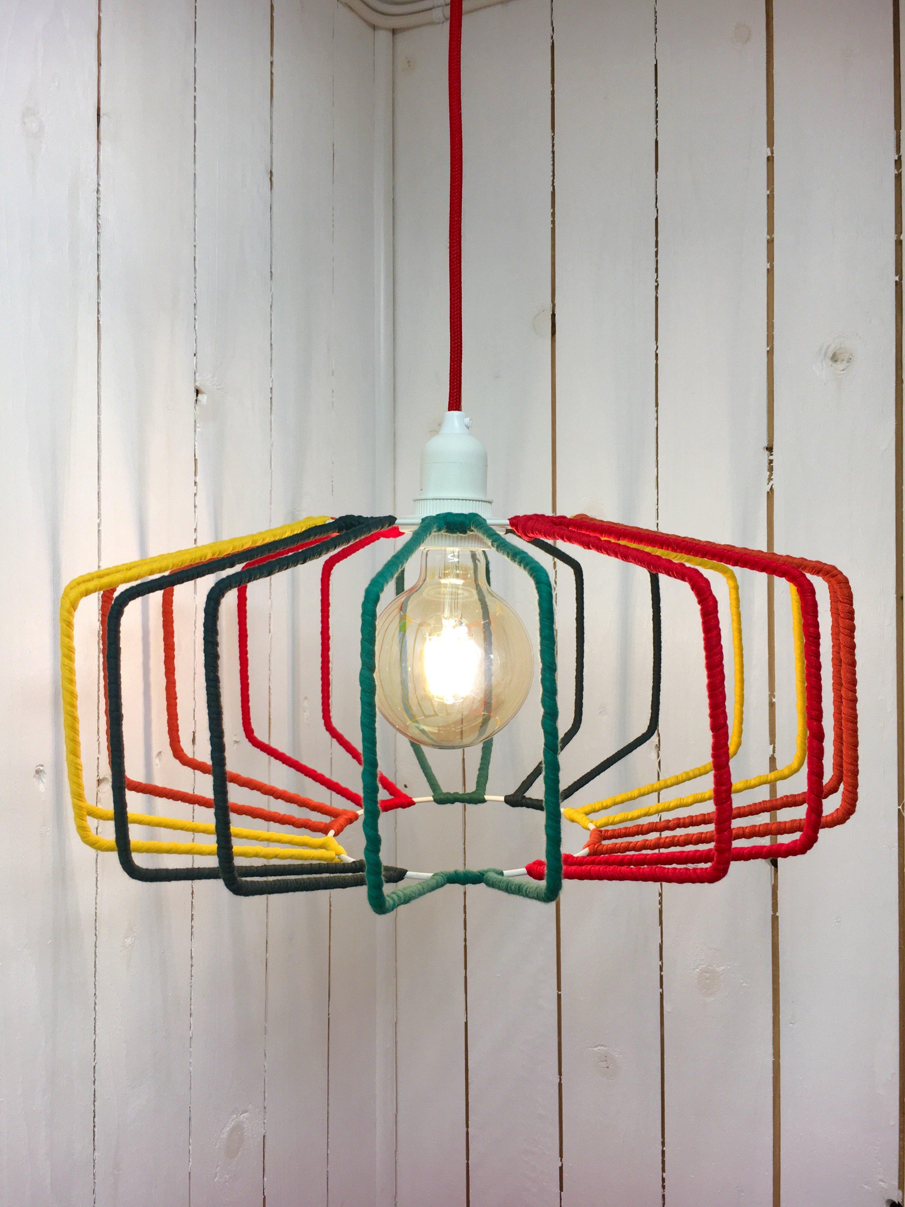 Hängande Lampa Multicolour