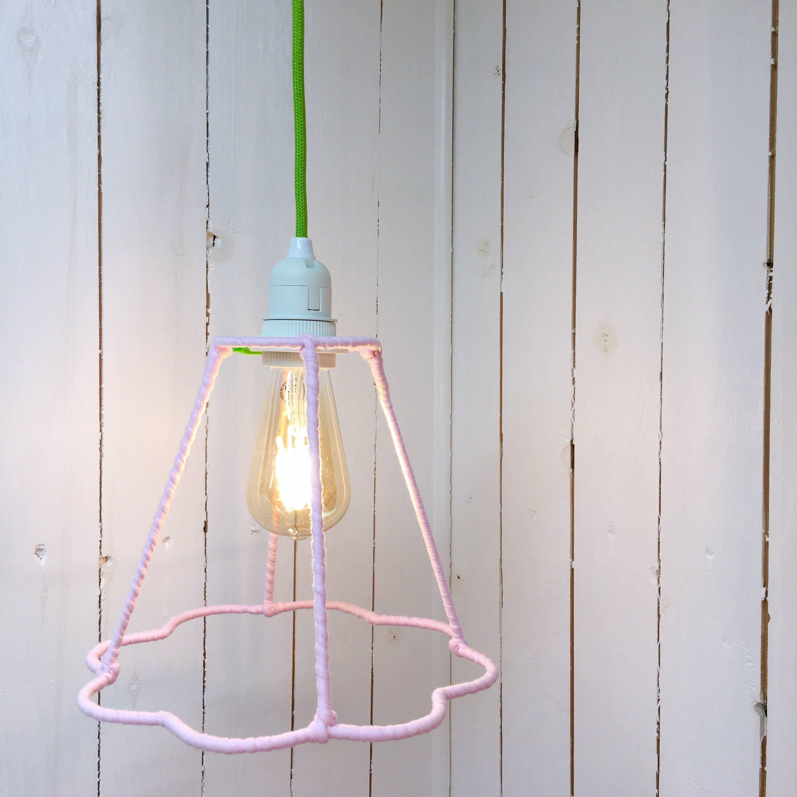 Hängande Lampa Blomma