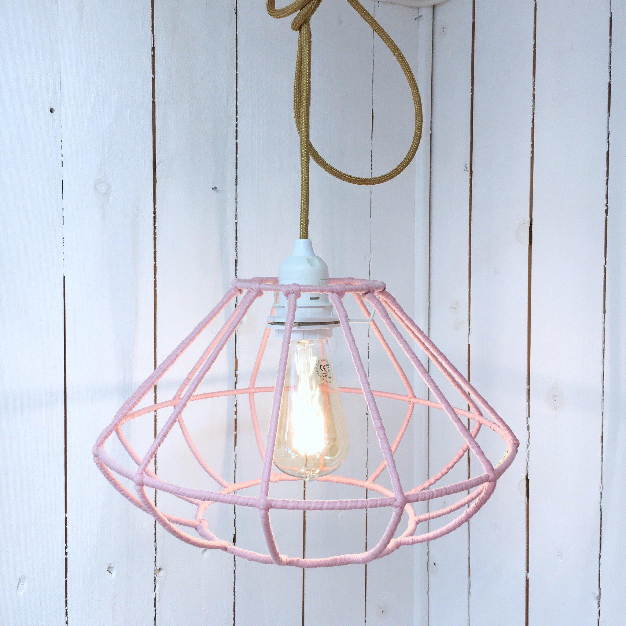 Hängande Lampa Pink Sphere