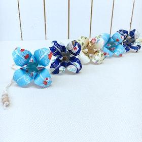 Origami-slinga Blue Koi