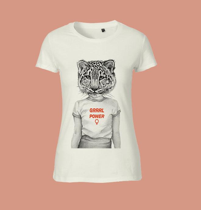 Grrrl Power T-shirt