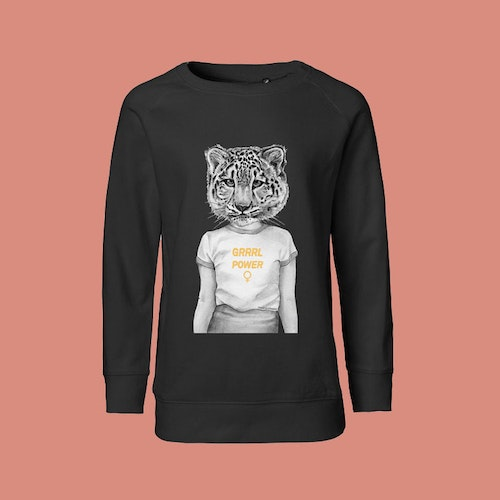 Grrrl Power Kids sweatshirt