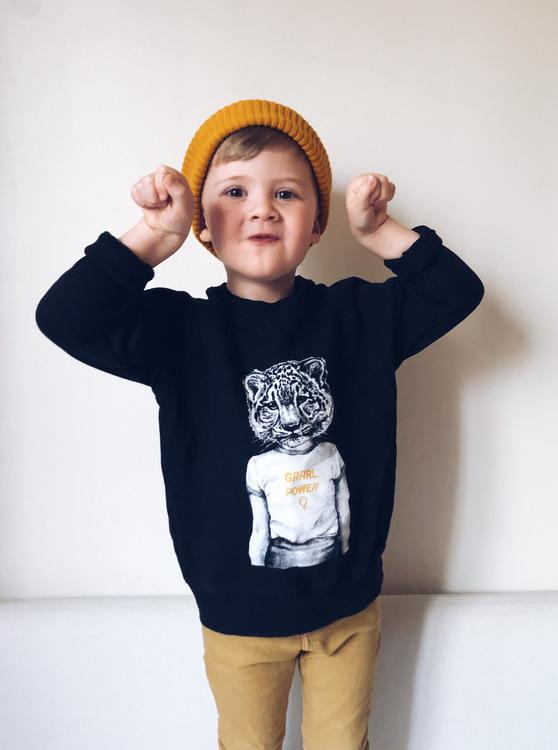 Grrrl Power Kids sweatshirt