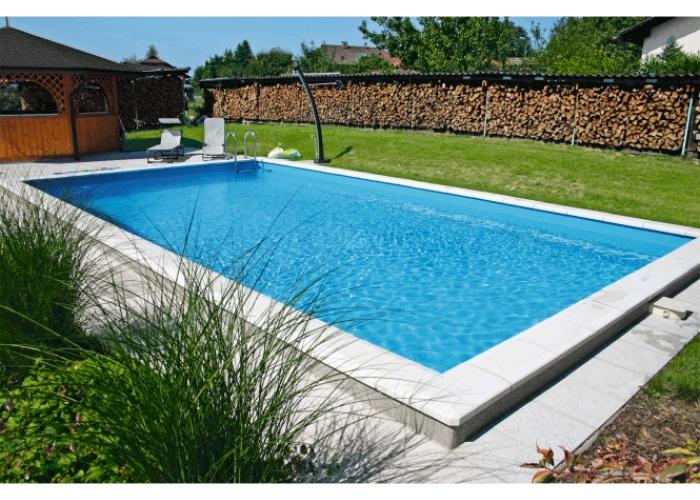 Proffs Thermoblock Pool Paket 800 x 400 x 150 cm