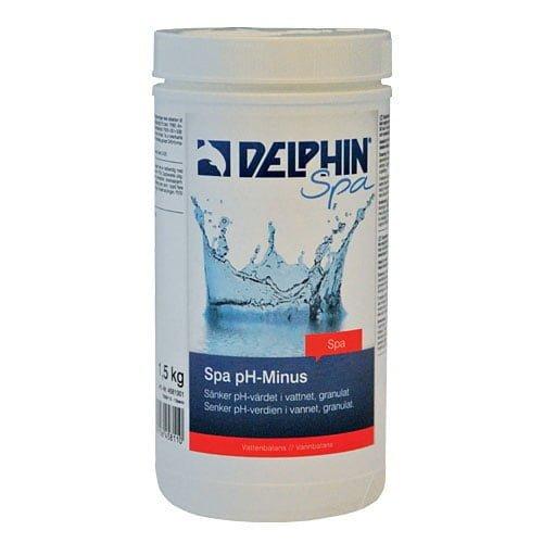 DELPHIN Spa pH Minus, 1,5 kg burk