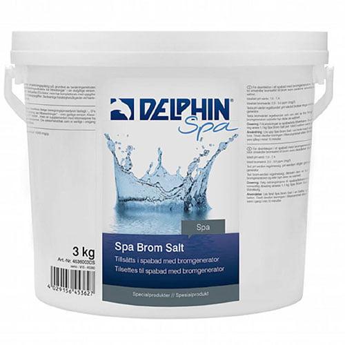 DELPHIN SPA Brom Salt, 3 kg hink