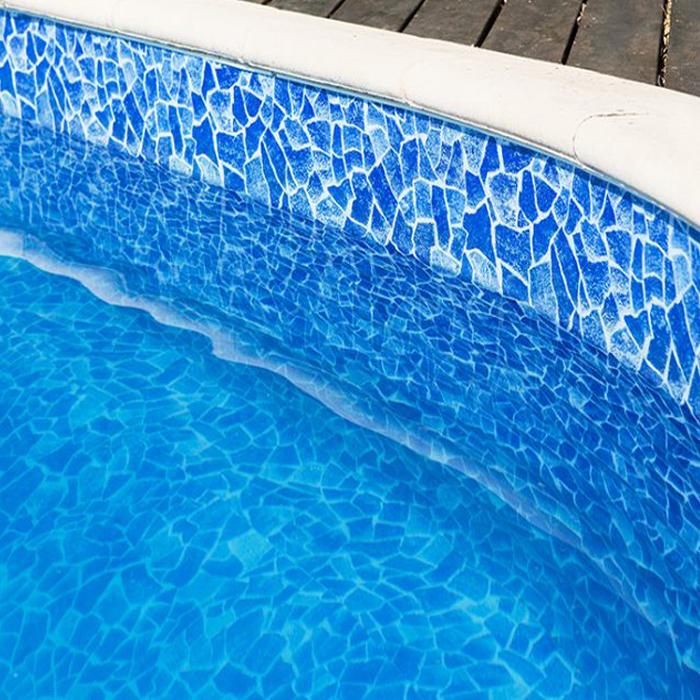 Proffs Thermoblock Pool Paket 900 x 450 x 150 cm