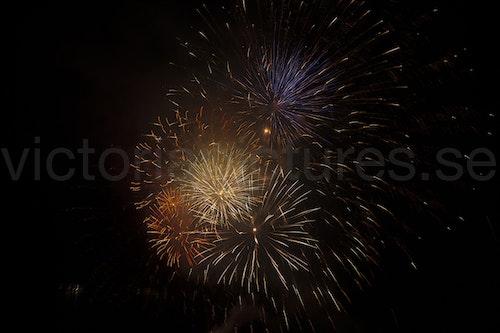 Fireworks colors