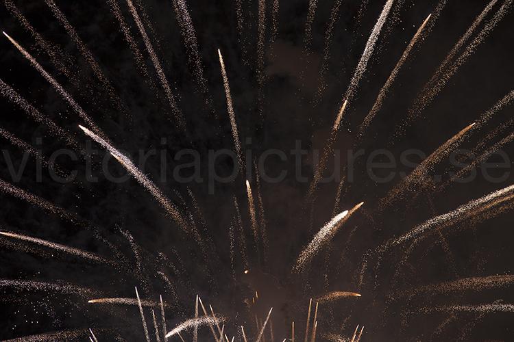 Fireworks white
