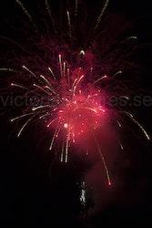 Fireworks cerise