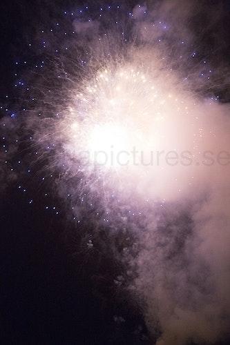 Fireworks pink