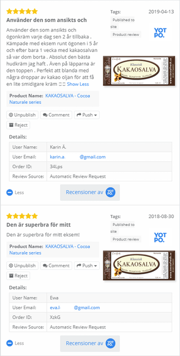 "KAKAOSALVA - ""Naturale"" (Universalcréme, Kakao)"