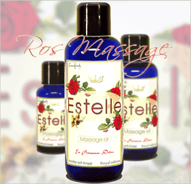 "ROSE MASSAGE OIL ""Estelle rose"" (Massageolja)"