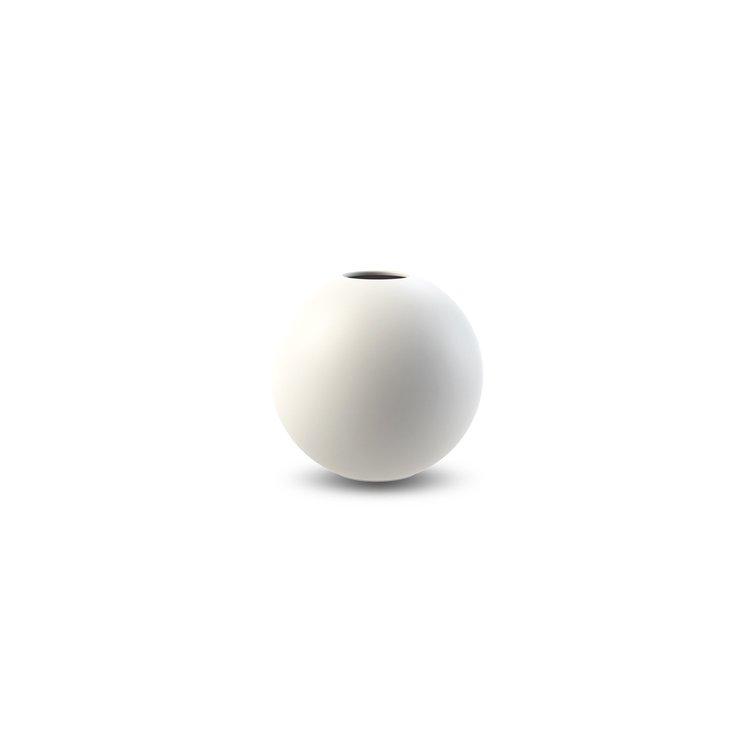 Ball Vase 8 cm White    KAMPANJ