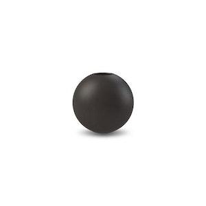 Ball Vase 8 cm Black