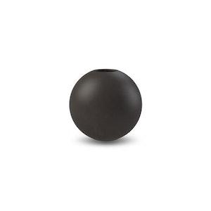 Ball Vase 10 cm Grey