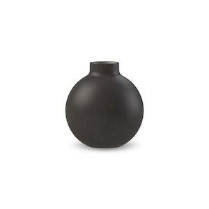 Collar Vase 12 cm Black