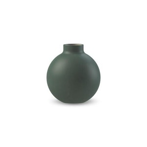 Collar Vase 12 cm  Dark Green
