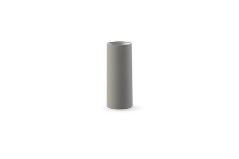 Tube Vase 11 cm Grey