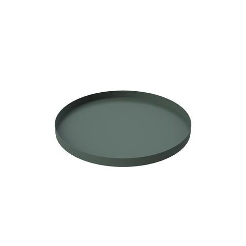 Bricka 30 x 2 cm Dark Green