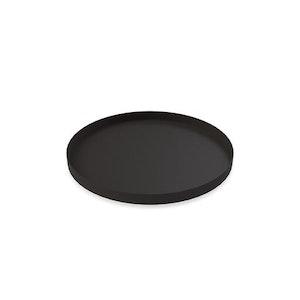 Bricka 30 x 2 cm Black