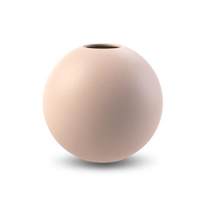 Ball Vase 20 cm Dusty Pink  KAMPANJ