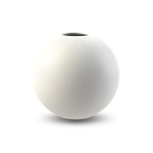 Ball Vase 20 cm White
