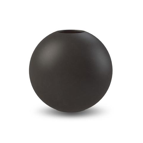 Ball Vase 20 cm Black