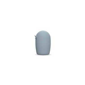 Ceramic Bird 8 cm Dusty Blue