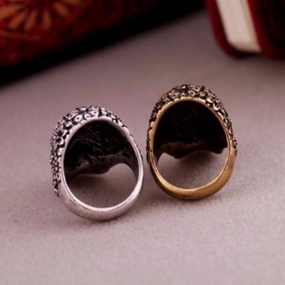 RAG DOLL - Silverpläterad ring