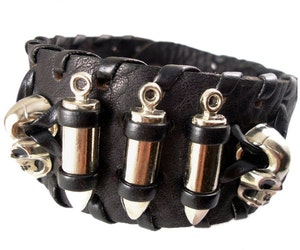 Bullet - Armband med patroner