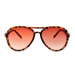 ROCK N' ROLL ANIMAL - Leopardmönstrade solglasögon